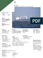 AVENUE PRIDE - Ship Particulars (2)