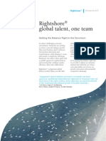 b Right Shore Global Talent One Team