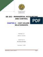 CVP Written Report
