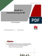 LTE eNodeB V2.1 Commissioning