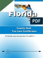 Florida County Held Tax Lien Certificates