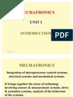 36733683 Mechatronics Unit I