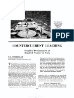 Counter Current Leaching
