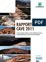 LEGAMBIENTE Rapporto Cave 2011