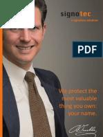 signotec Image Brochure (eng.)