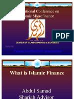 Islamic Micro Finance by Qazi Abdul Samad