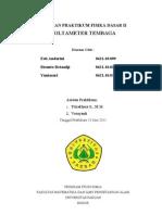 Laporan Voltmeter Tembaga