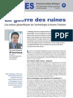 La guerre des ruines - Notes d'Analyse Géopolitique n°27