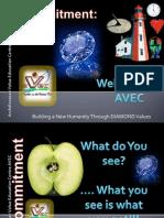 AVEC Teachers'  Seminar Commitment