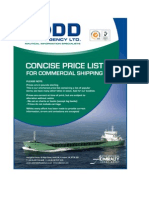 Todd Concise Price List