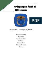 Kasus Perdagangan Anak Di Dki Jakarta - Makalah