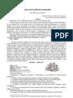 Metode active în didactica matematicii