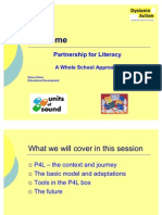 Simon Kilner - P4L - Partnership for Literacy - Dyslexia Guild Summer Conference 2011