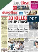 Bangalore Beat Evening Newspaper - 07.07