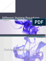 Different Staining Procedures