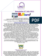 Newsletter 6th July 2011