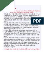 Bai Tap Thau Kinh - Tran Minh Tien