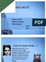 Eladio Dieste. Jesica Angulo, Delfina Guinguis, Sofia Segura