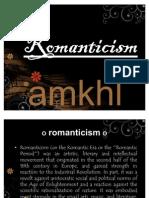 Ppt. Romanticism