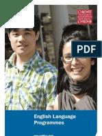 English Language Programmes Brochure