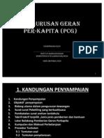 Pengurusan Geran PCG