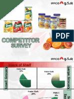 Competitor Survey
