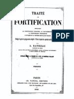 Alexandre Ratheau- traité de fortification