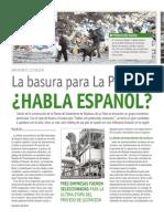 La basura para La Plata ¿Habla español?