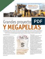 Grandes proyectos y megapeleas