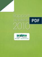études ET chantiers Rapport d'Activités 2010