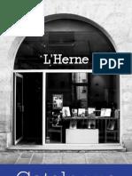 Catalogue 2011 - Éditions de L'Herne