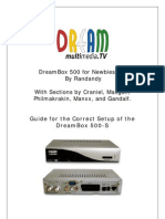 Dreambox 500 for Newbies 6.1