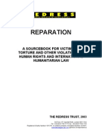 Redress - Reparations Source Book