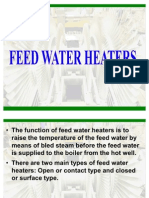 Feed Water Heater