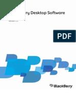 BlackBerry Desktop Software for Mac Version 2.1 User Guide