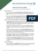 MDGs Report 2011 Key Messages En
