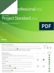MSProject 2010 Version Comparison Desktop
