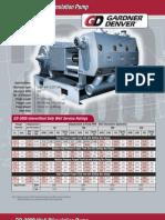 Mud Pump Gardner Denver GD-3000 Brochure