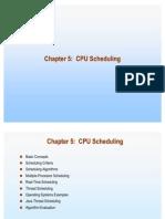 5 CPU Scheduling