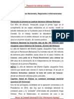 Resumen de Noticias Matutino 07-07-2011