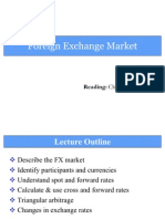 2. Foreign Exchange Market