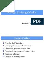 2. Foreign Exchange Market