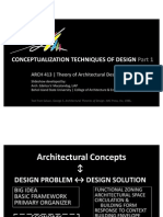 Arch413 - Conceptualization Techniques of Design