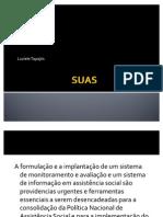 Gestão da informação no SUAS