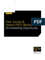 Paid, Earned & Owned Media