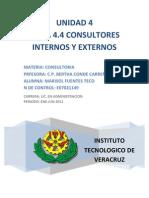 Tema 4.4 Cons Internos y Externos