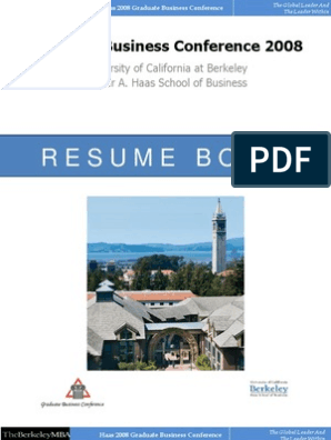 Resume Book GBC 2008 | Master Of Business Administration | Banks