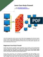 Bagaimana Cara Kerja Firewall