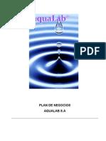 AquaLab Plan de Negocios