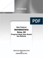 Silabus Mat SMA XII-IS